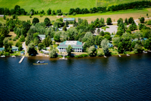 Elmhirst Resort aerial