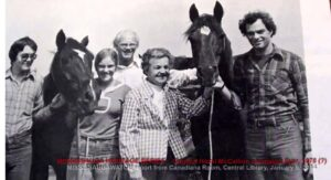 Hazel McCallion Horses